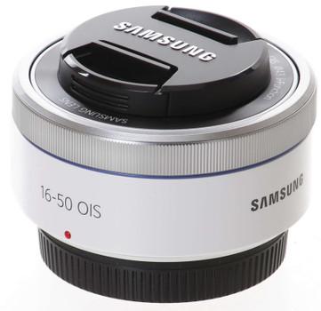 Samsung NX 16-50 mm F3.5-5.6 ED OIS Power Zoom 43 mm filter (geschikt voor Samsung NX) wit