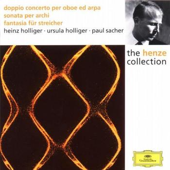 Heinz Holliger - Hans Werner Henze - Sonata per archi / Doppio concerto per oboe, arpa ed archi / Fantasia für Streicher