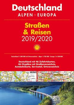 Shell Straßen & Reisen 2019/20 Deutschland 1:300.000, Alpen, Europa [Taschenbuch]