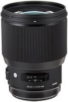 Sigma A 85 mm F1.4 DG HSM 86 mm Objetivo (Montura Nikon F) negro