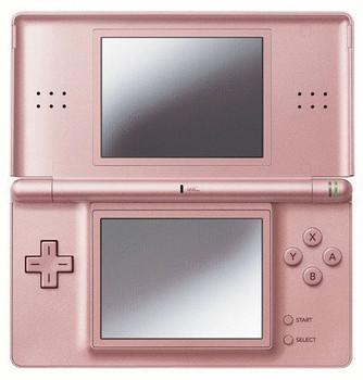 Nintendo DS lite Rosa metalizado