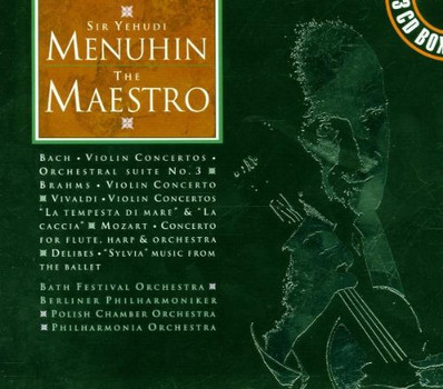 Various Orchestras - Sir Yehudi Menuhin/the Maestro