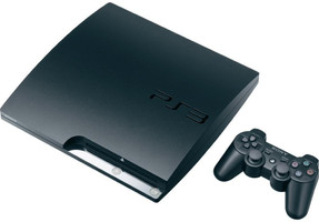 Sony PlayStation 3 slim 120 GB negro [mando inalámbrico incluído]