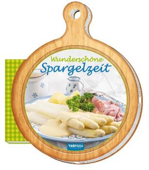 """Rezeptbrettchen """"Wunderschöne Spargelzeit"""" Kochbuch [Gebundene Ausgabe]"""