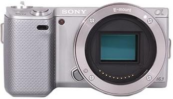 Sony Alpha NEX-5N Cuerpo plata