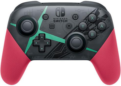 Nintendo Switch Pro controller mando [Edición Xenoblade Chronicles 2] negro