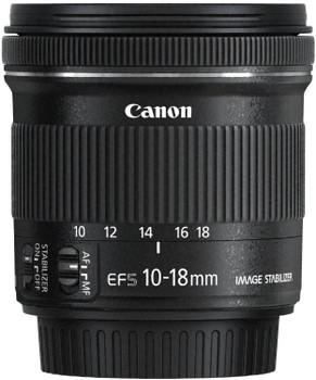 Canon EF-S 10-18 mm F4.5-5.6 IS STM 67 mm Obiettivo (compatible con Canon EF-S) nero
