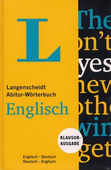 Langenscheidt Abitur-Wörterbuch: Englisch - Klausurausgabe, Englisch-Deutsch / Deutsch-Englisch [Gebundene Ausgabe]