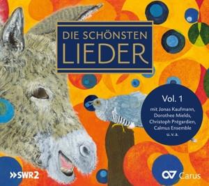 Kaufmann/Prégardien/Mields/Richter/Dresdner Kammer - Die schönsten Lieder Vol.1