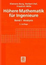 Höhere Mathematik für Ingenieure, 5 Bde., Bd.1, Analysis
