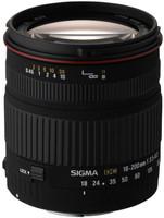 Sigma 18-200 mm F3.5-6.3 DC 62 mm Objectif (adapté à Pentax K) noir