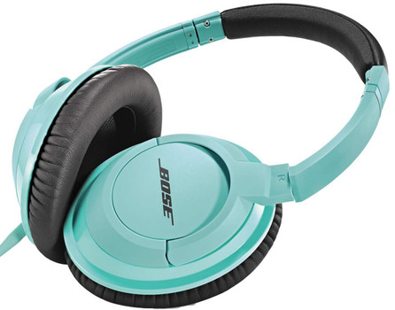 Bose SoundTrue around-ear headphones menthe