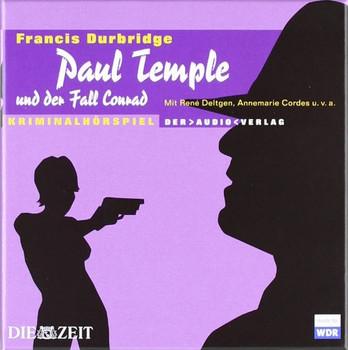 Paul Temple und der Fall Conrad. 4 CDs