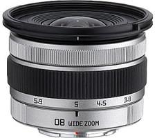 Pentax 3,8-5,9 mm F3.7-4.0 49 mm Obiettivo (compatible con Pentax Q) argento