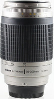 Nikon AF NIKKOR 70-300 mm F4.0-5.6 G 62 mm Objectif (adapté à Nikon F) argent