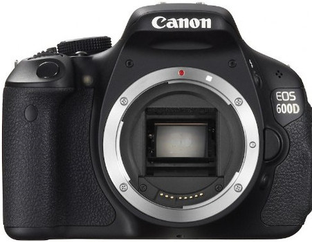 Canon EOS 600D zwart
