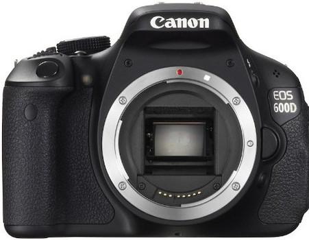 Canon EOS 600D Cuerpo negro