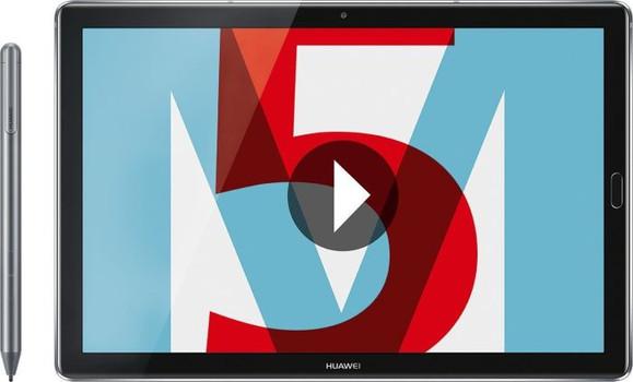"""Huawei MediaPad M5 Pro 10,8"""" 64 Go [Wi-Fi + 4G, incl. Huawei M-PEN] space gray"""