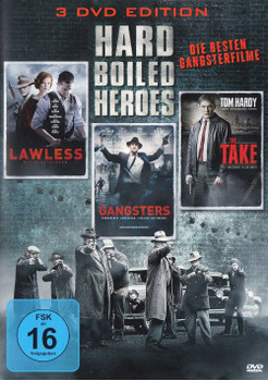 Hard Boiled Heroes: Lawless / Gangsters / The Take [3 DVDs]