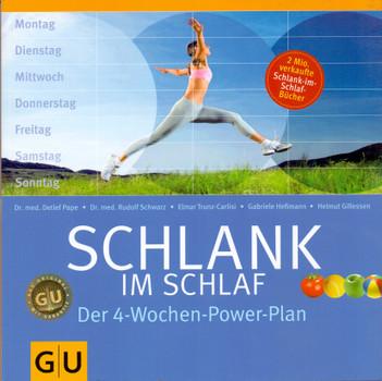 Schlank im Schlaf: Der 4-Wochen-Power-Plan - Detlef Pape [Broschiert, 11. Auflage 2011]