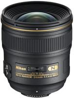 Nikon AF-S NIKKOR 24 mm F1.4 ED G 77 mm filter (geschikt voor Nikon F) zwart