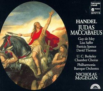Lisa Saffer Guy de Mey  - Judas Maccabaeus