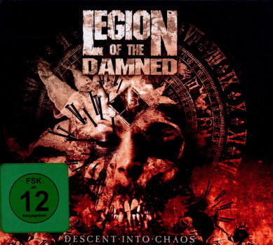 Legion of the Damned - Descent Into Chaos (Ltd Deluxe Edition)