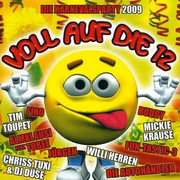 Various - Voll auf die 12-die Karnevalsparty 2009