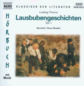 Lausbubengeschichten, je 1 Audio-CD, Tl.1