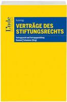 Verträge des Stiftungsrechts - Julia Kusternigg  [Taschenbuch]