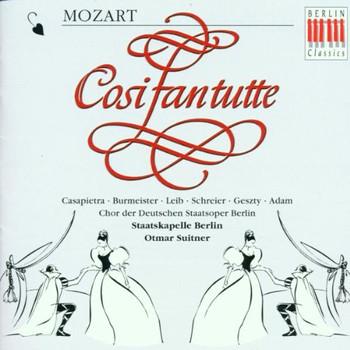 P. Schreier - Mozart: Cosi Fan Tutte (Gesamtaufnahme) (ital.)