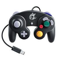 Nintendo Gamecube Mando negro [Super Smash Bros Edition]