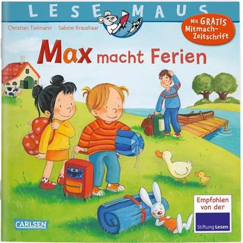 LESEMAUS 113: Max macht Ferien - Christian Tielmann  [Taschenbuch]