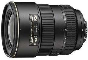 Nikon AF-S DX NIKKOR 17-55 mm F2.8 ED G IF 77 mm Objetivo (Montura Nikon F) negro