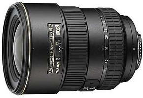 Nikon AF-S DX NIKKOR 17-55 mm F2.8 ED G IF 77 mm filter (geschikt voor Nikon F) zwart