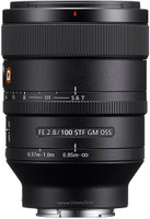 Sony FE 100 mm F2.8 GM OSS STF 57 mm Objetivo (Montura Sony E-mount) negro