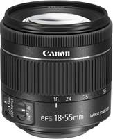 Canon EF-S 18-55 mm F4.0-5.6 IS STM 58 mm Objetivo (Montura Canon EF-S) negro