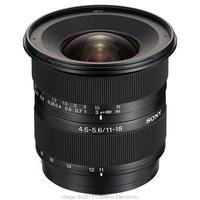 Sony 11-18 mm F4.5-5.6 DT 77 mm Objectif (adapté à Sony A-mount) noir