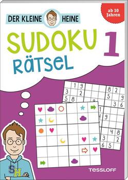 Der kleine Heine: Sudoku Rätsel 1. Kniffliger Rätselspaß - Stefan Heine  [Taschenbuch]