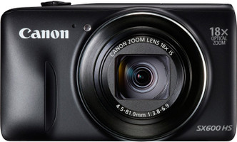 Canon PowerShot SX600 HS negro