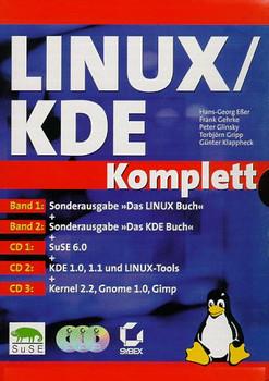 Linux / KDE Komplett: 2 Bde. - Hans-Georg Eßer