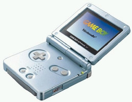 Game Boy Advance SP azul ártico