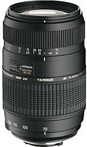 Tamron AF 70-300 mm F4.0-5.6 Di LD Macro 1:2 62 mm Obiettivo (compatible con Nikon F) nero