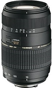 Tamron AF 70-300 mm F4.0-5.6 Di LD Macro 1:2 62 mm Objetivo (Montura Nikon F) negro
