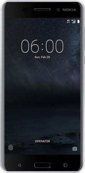 Nokia6 Dual SIM 32GB argento bianco