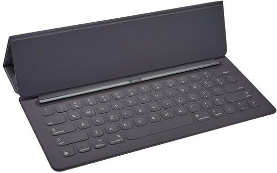 """Tastiera Smart Apple iPad Pro 9.7 """"[Layout tastiera inglese, QWERTY] Nero"""