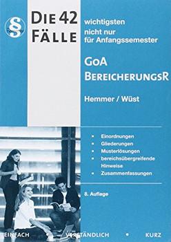 42 Fälle GoA / Bereicherungsrecht - Hemmer Karl-Edmund