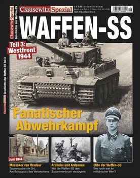 Waffen-SS, Westfront 1944. Clausewitz Spezial 26 - Stefan Krüger  [Taschenbuch]