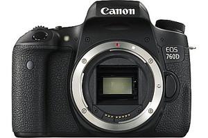 Canon EOS 760D zwart