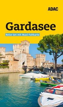 ADAC Reiseführer plus Gardasee. Das ADAC Reise-Set mit Maxi-Faltkarte zum Herausnehmen - Max Fleschhut  [Gebundene Ausgabe]